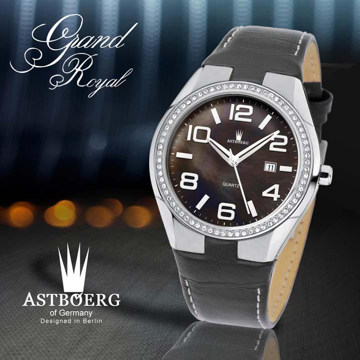 Astboerg Grand Royal Serie Tirol AT719LSS Herrenuhr