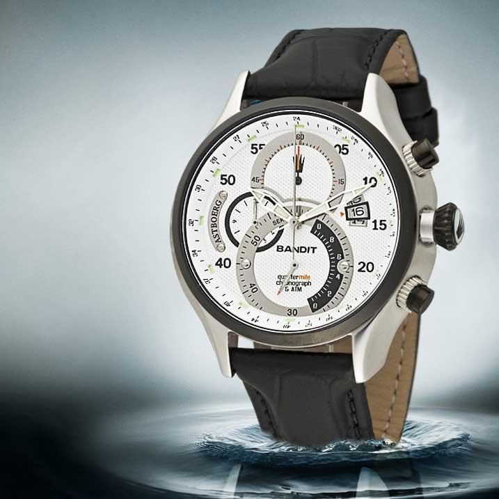 Astboerg Quartermile Herrenuhr AT3016SW Chronograph
