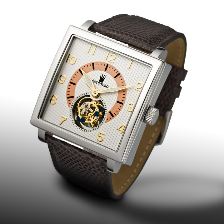 Astboerg Quadrus Herrenuhr AT801SW Tourbillon