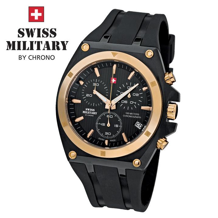 Swiss Military by Chrono Herrenuhr SM34021.05 Chronograph