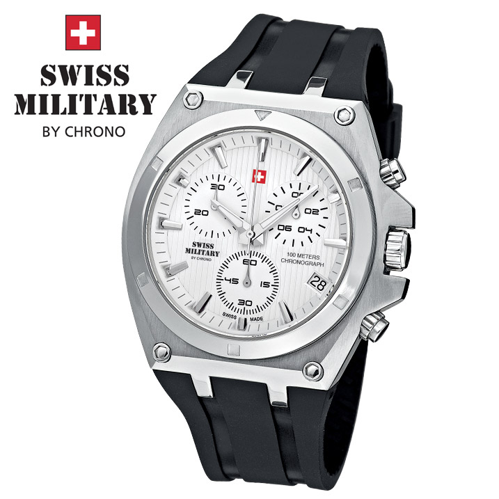 Swiss Military by Chrono Herrenuhr SM34021.04 Chronograph