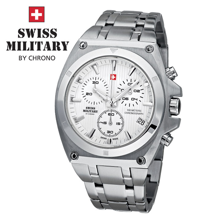 Swiss Military by Chrono Herrenuhr SM34021.02 Chronograph