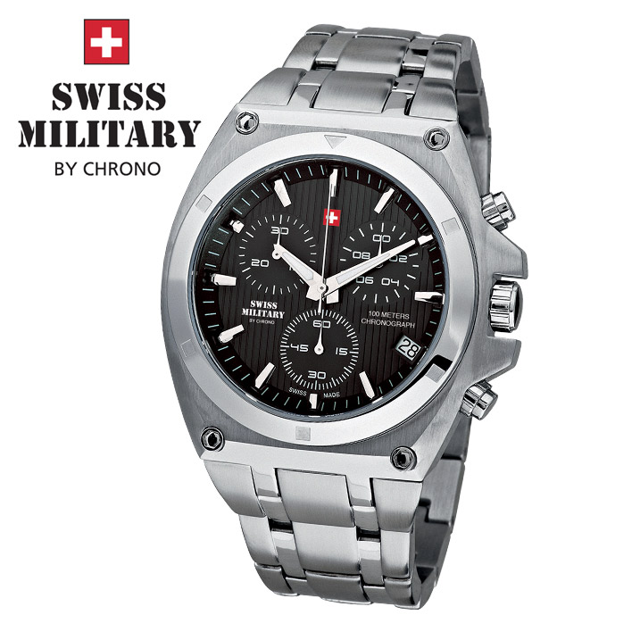 Swiss Military by Chrono Herrenuhr SM34021.01 Chronograph
