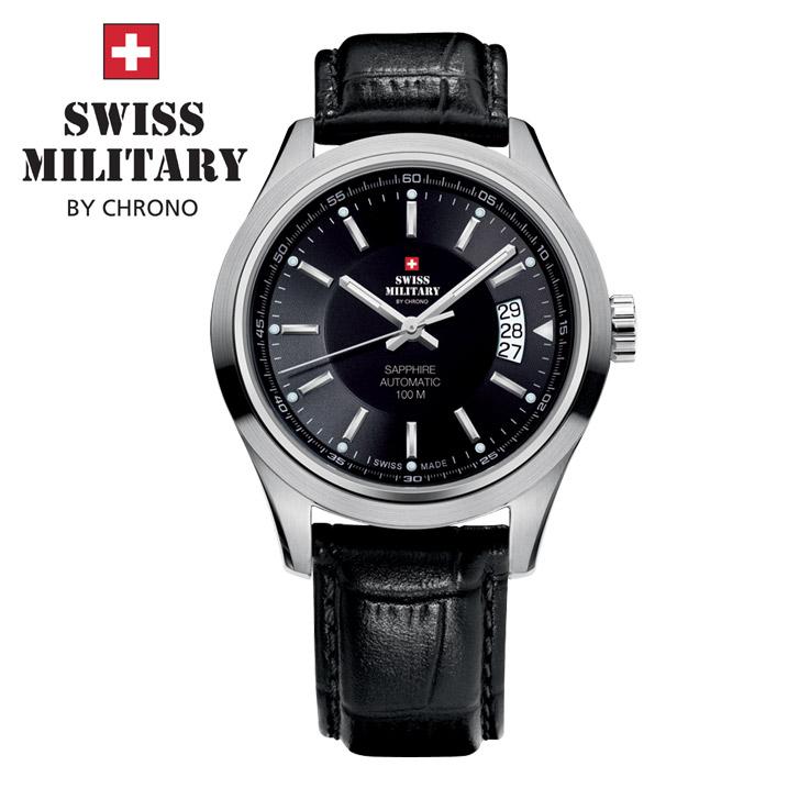 Swiss Military by Chrono Herrenuhr 20056ST-1L/ SMA30003.08 Automatikuhr