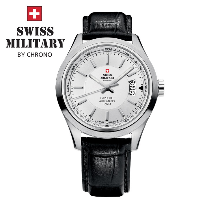 Swiss Military by Chrono Herrenuhr 20056ST-2L / SMA30003.09 Automatikuhr