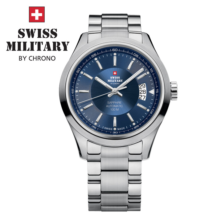 Swiss Military by Chrono Herrenuhr 20056ST-6M / SMA30003.03 Automatikuhr