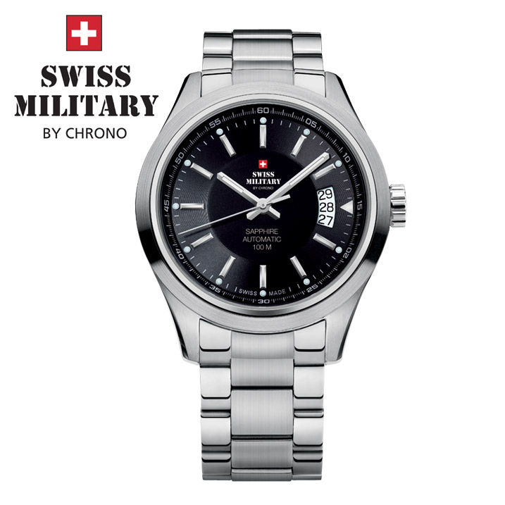 Swiss Military by Chrono Herrenuhr SMA30003.01 Automatikuhr