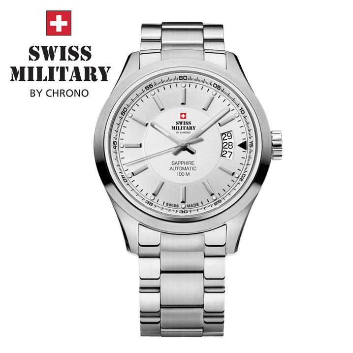 Swiss Military by Chrono Herrenuhr SMA30003.02 Automatikuhr