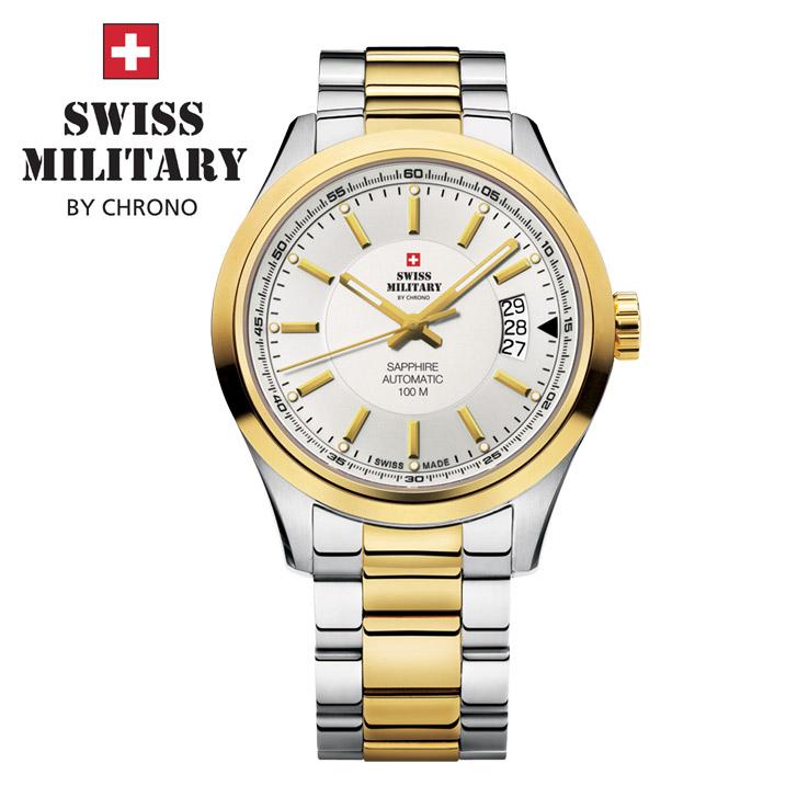 Swiss Military by Chrono Herrenuhr SMA30003.05 Automatikuhr