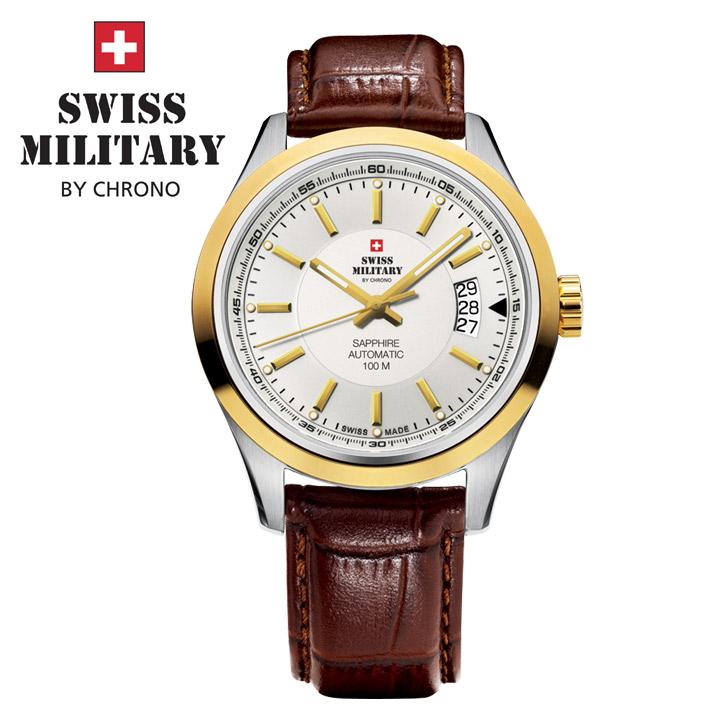 Swiss Military by Chrono Herrenuhr SMA30003.11 Automatikuhr