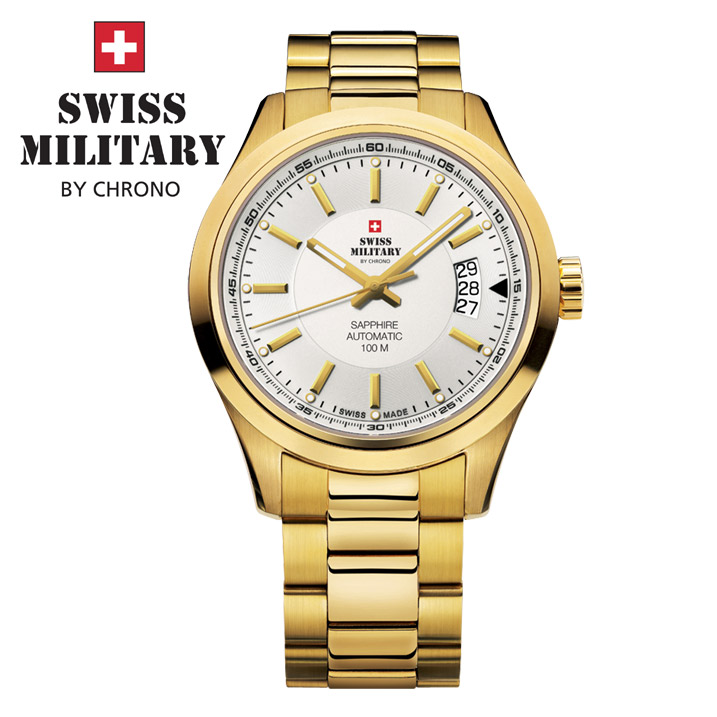 Swiss Military by Chrono Herrenuhr SMA30003.07 Automatikuhr