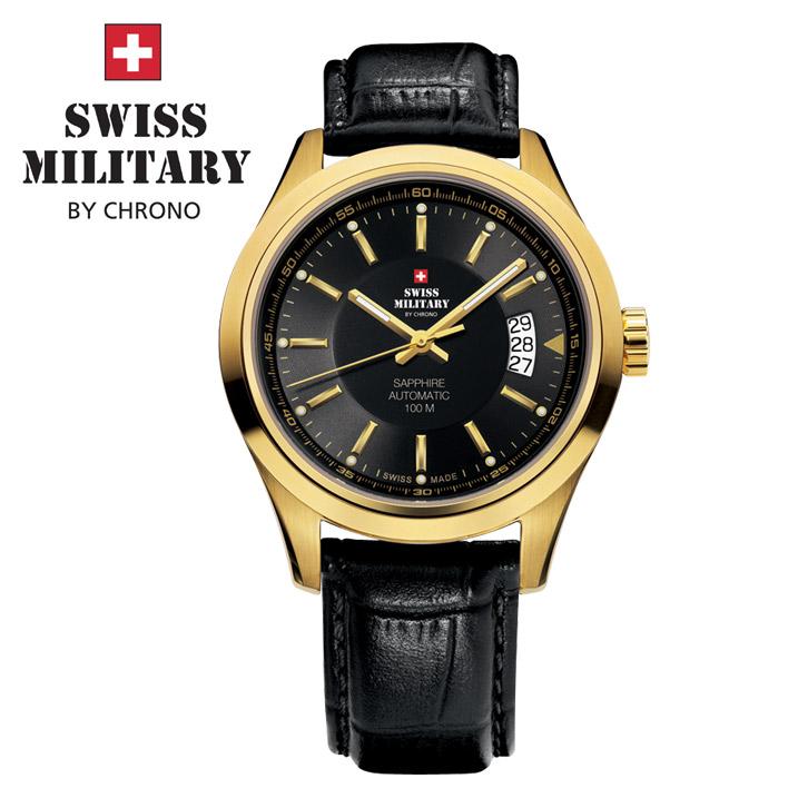 Swiss Military by Chrono Herrenuhr SMA30003.12 Automatikuhr