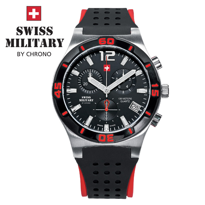 Swiss Military by Chrono Herrenuhr SM34015.06 Chronograph