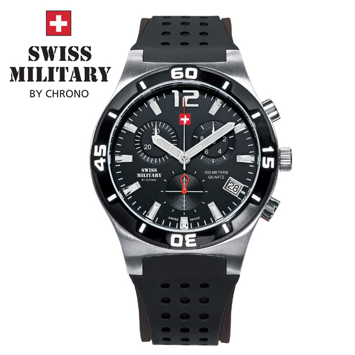 Swiss Military by Chrono Herrenuhr SM34015.05 Chronograph