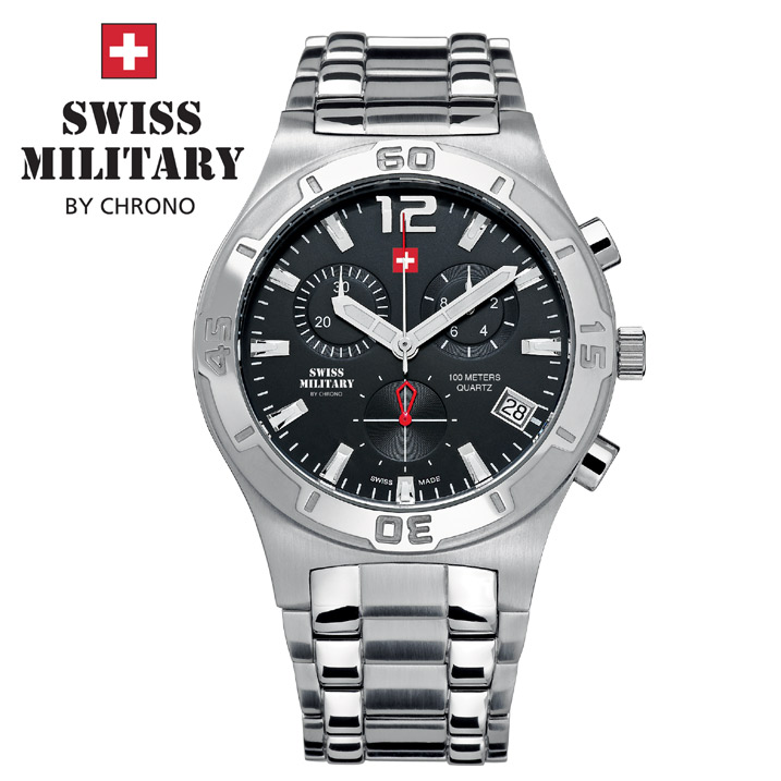 Swiss Military by Chrono Herrenuhr SM34015.01 Chronograph