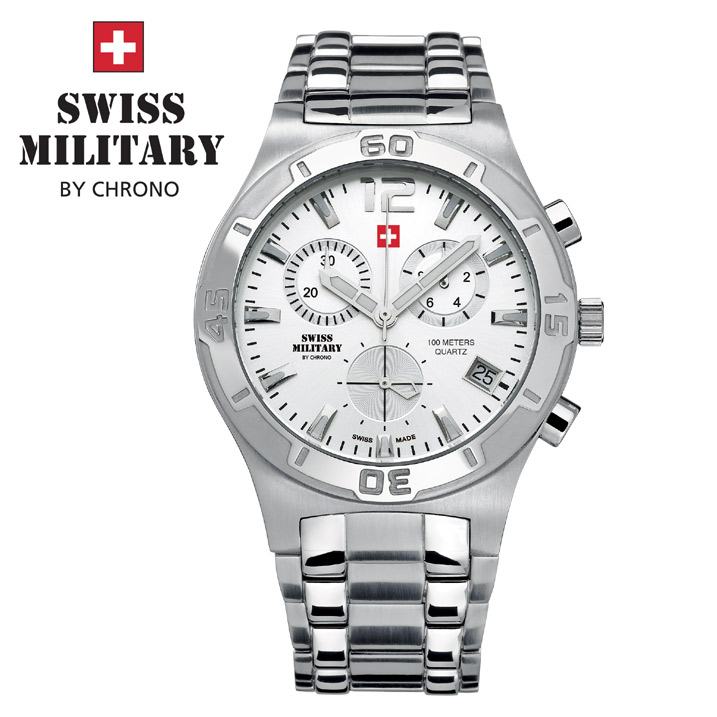 Swiss Military by Chrono Herrenuhr SM34015.02 Chronograph