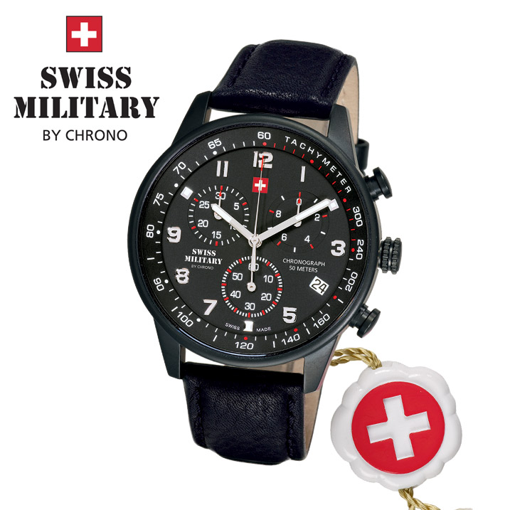 Swiss Military by Chrono Herrenuhr SM34012.08 Chronograph