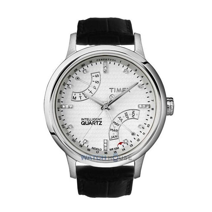 Timex Ewiger Kalender T2N570 Damenuhr Intelligent Quartz