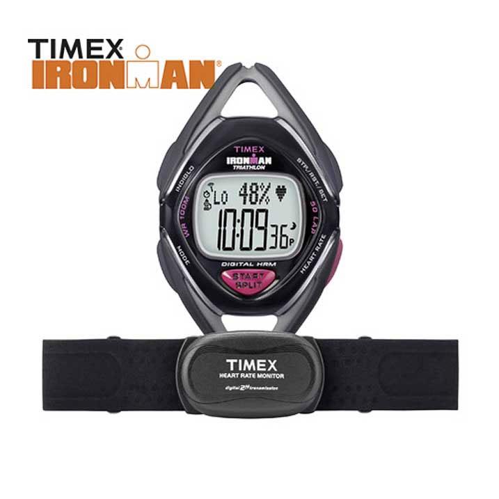 Timex Ironman Triathlon Race Trainer Pulsmesser Damen-Chrono T5K570