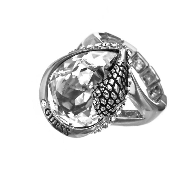 Guess Ring UBR81131 mit großem Zirkonia