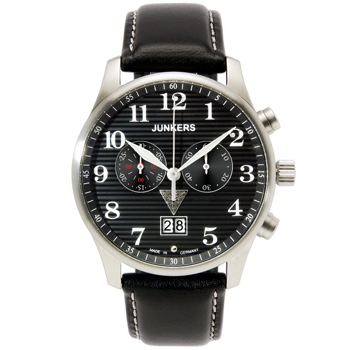 Junkers Iron Annie JU52  Chronograph Big Date 6686-2 Herrenuhr