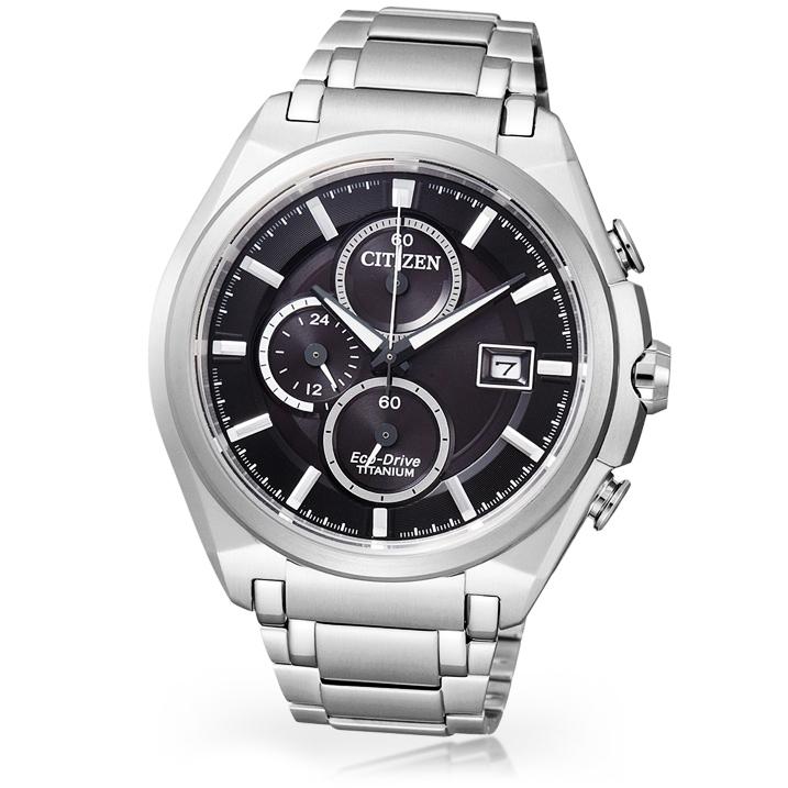 Citizen Super Titanium Eco Drive CA0350-51E Herrenchronograph