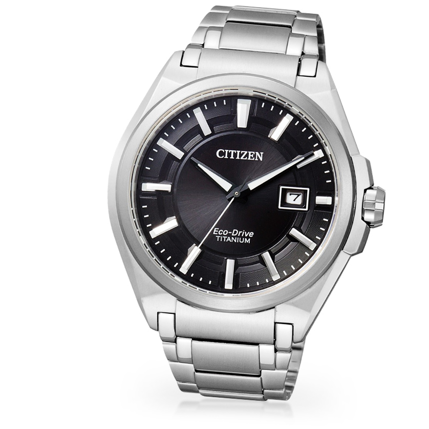 Citizen Super Titanium Herrenuhr BM6930-57E Eco Drive