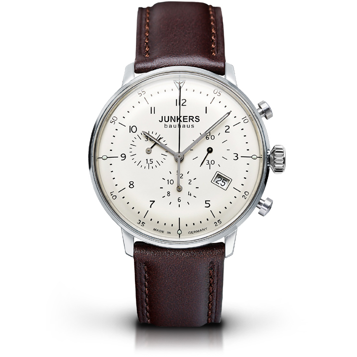 Junkers Chronograph Serie Bauhaus 6086-5 Herrenuhr