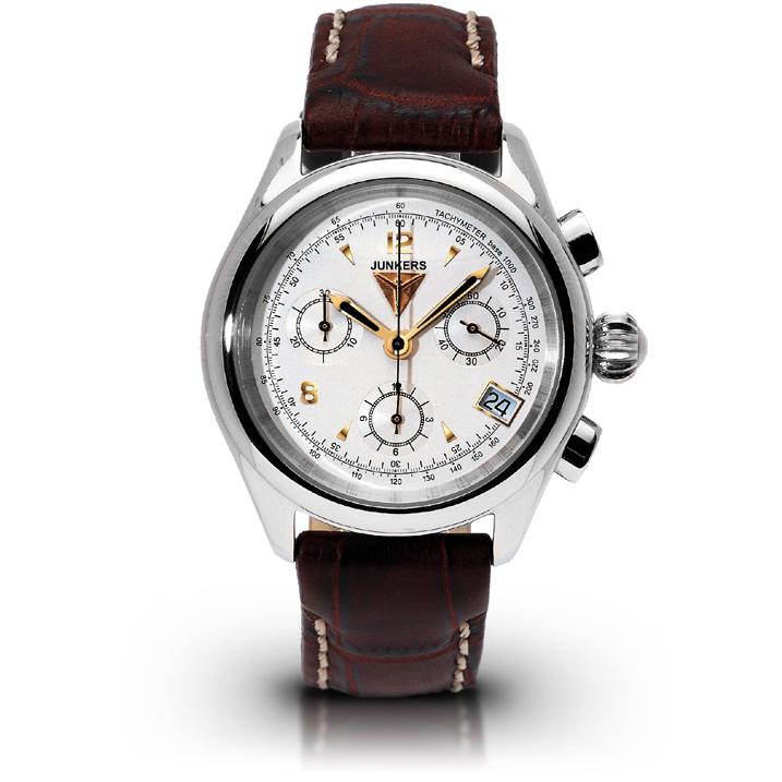 Junkers Himalaya Pearls Damenuhr 6289-1 Chronograph