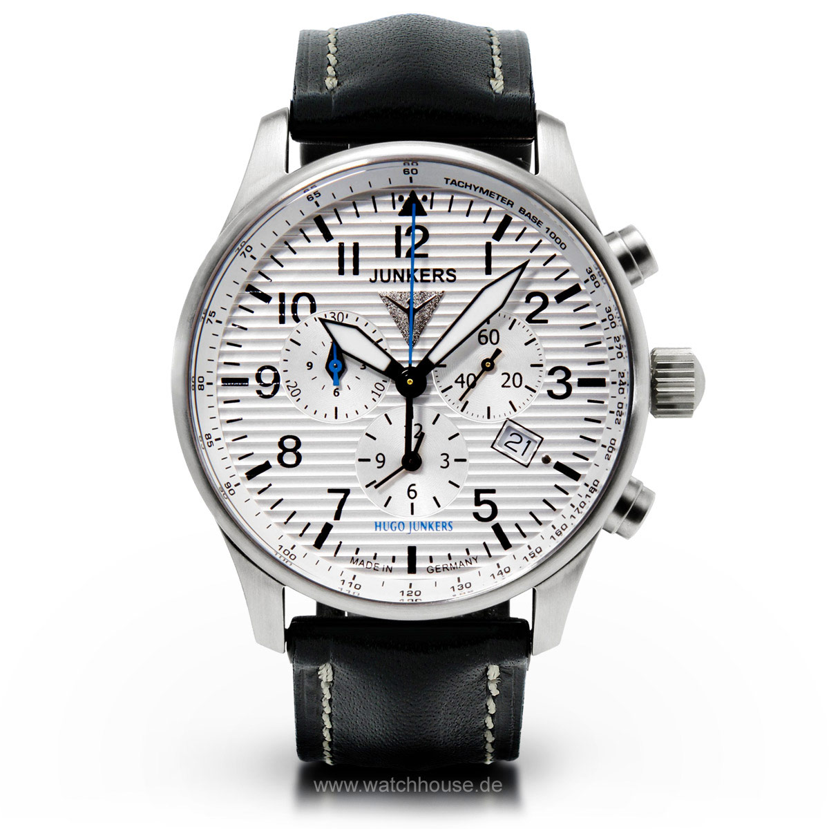 Junkers 150 Jahre Hugo Junkers Alarm-Chronograph 6684-1