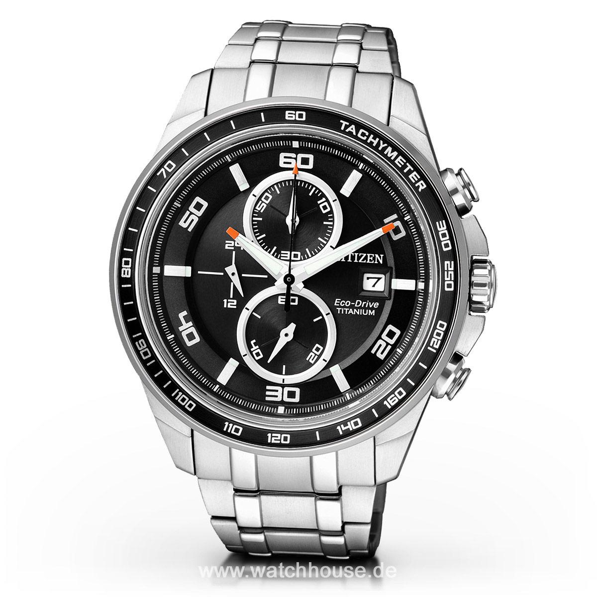 Citizen Super Titanium Herrenuhr CA0340-55E Chronograph