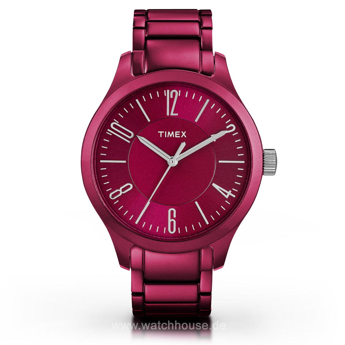 Timex Aluminium Colors T2P110 Damen Armbanduhr