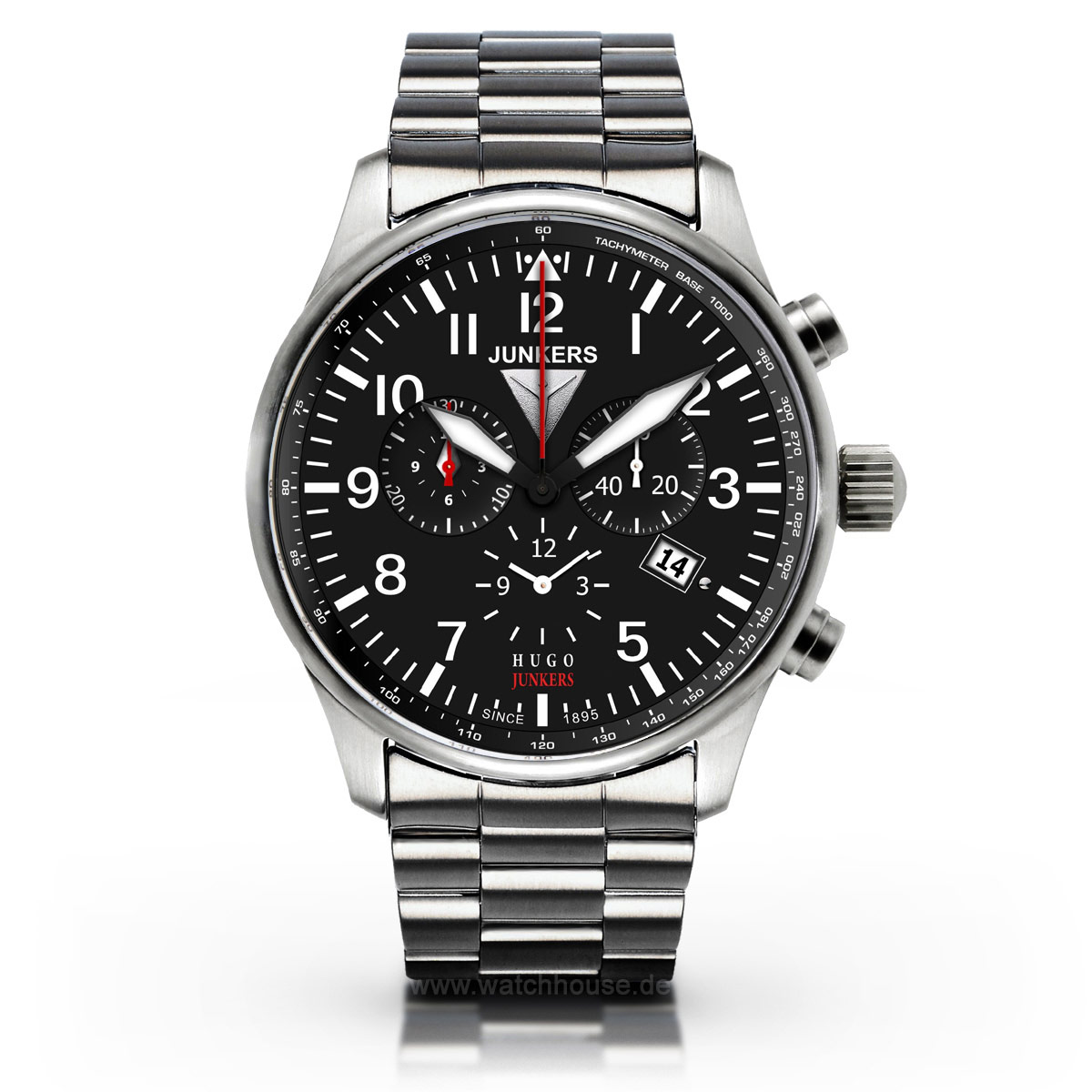 Junkers Alarm Chronograph 6684M-2 Hugo Junkers Edition