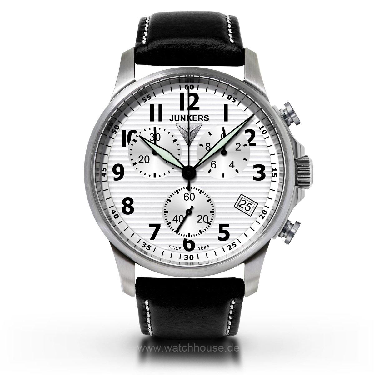 Junkers Herren Chronograph 6890-1 Tante Junkers