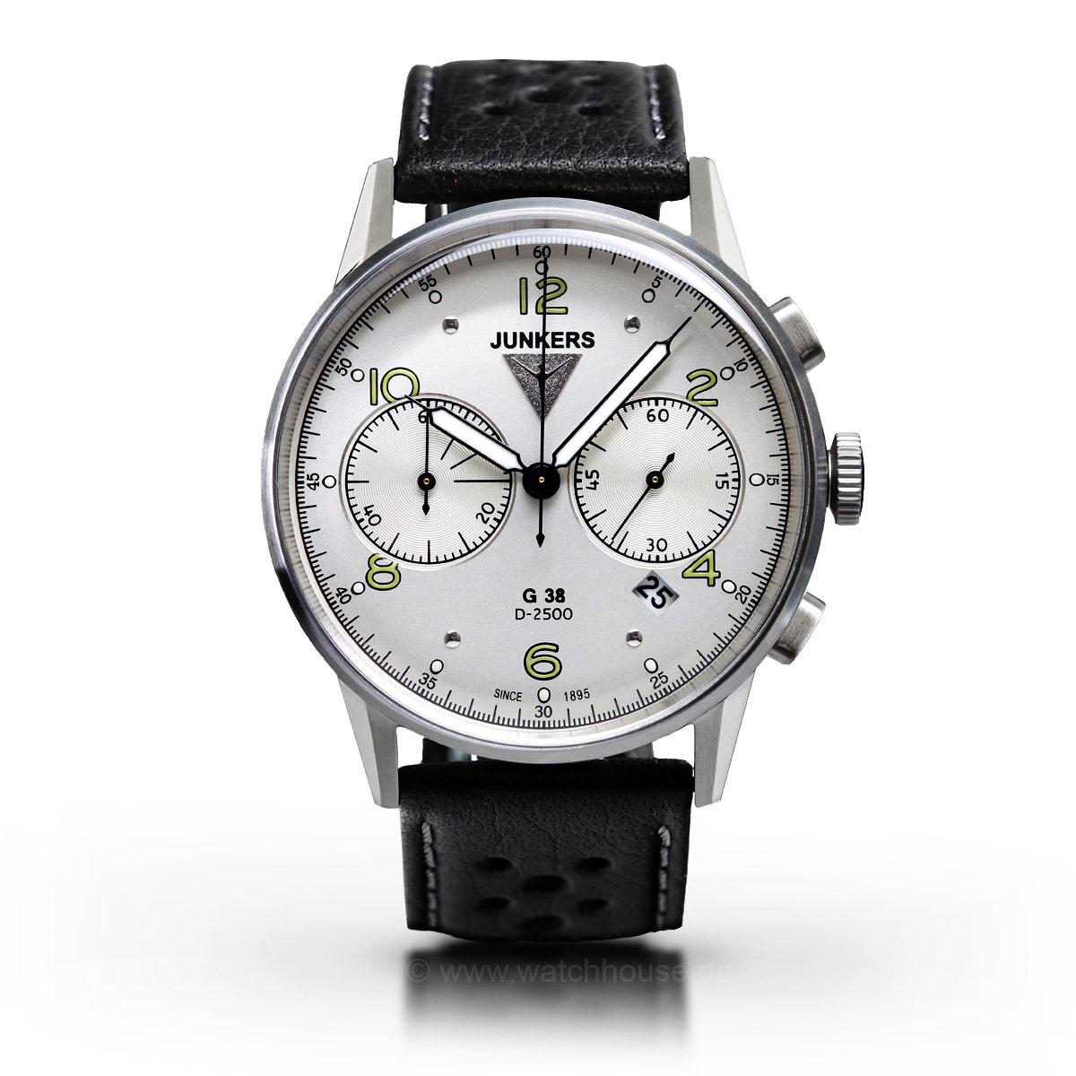 Junkers G38 Quarz Chronograph 6984-4 Herrenuhr
