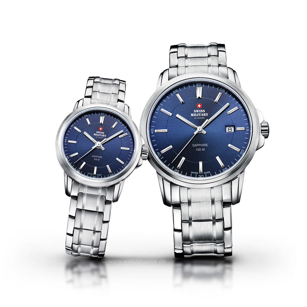 Swiss Military Uhren Partner Set SM34039.03-40.03 für Sie und Ihn