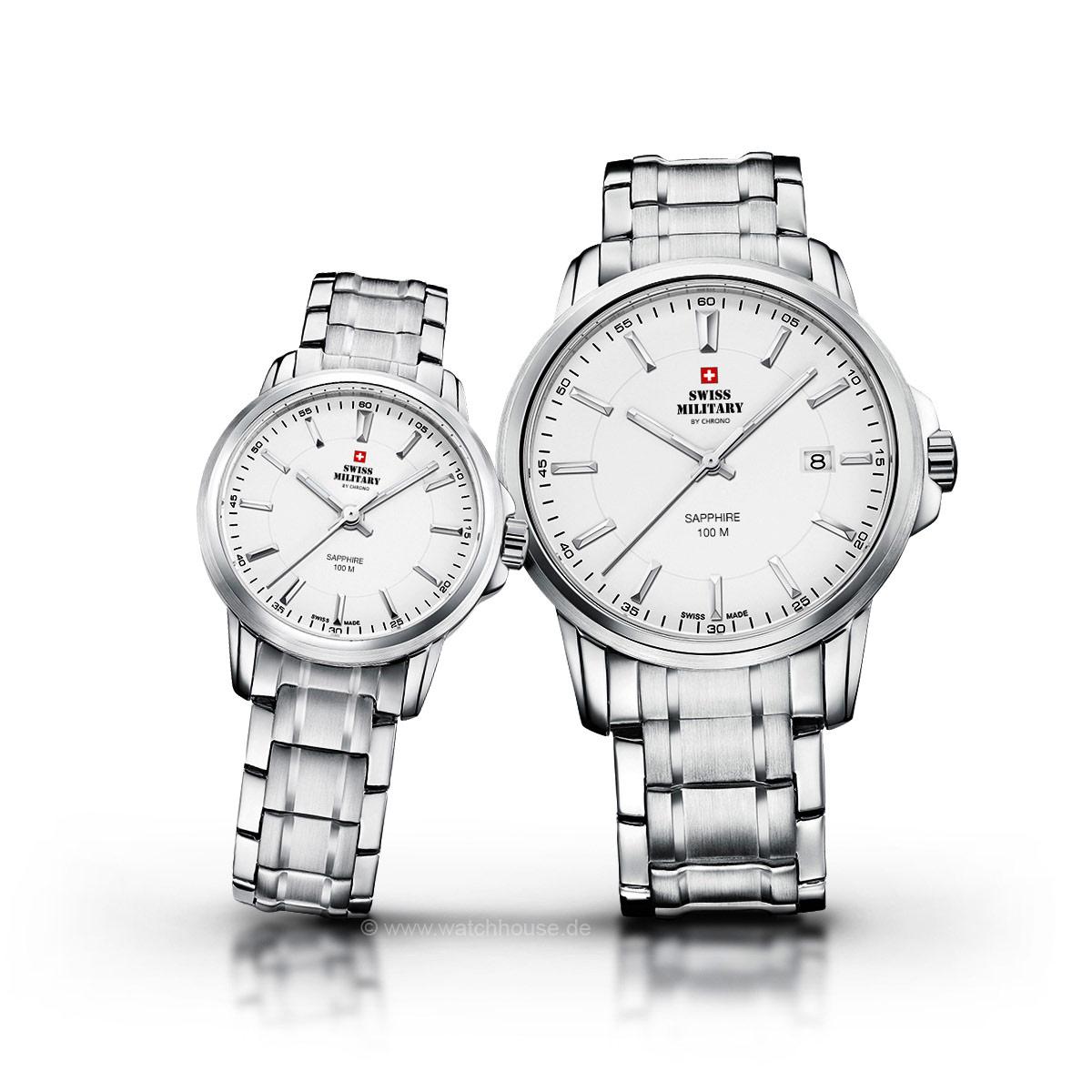 Swiss Military Uhren Partner Set SM34039.02-40.02 für Sie und Ihn