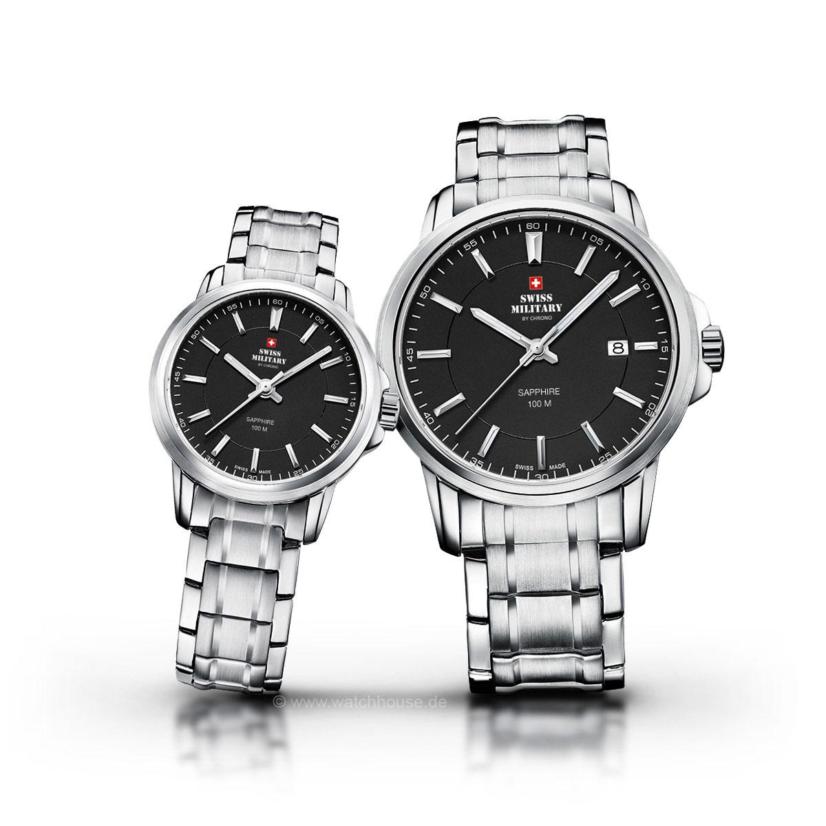 Swiss Military Uhren Partner Set SM34039.01-40.01 für Sie und Ihn