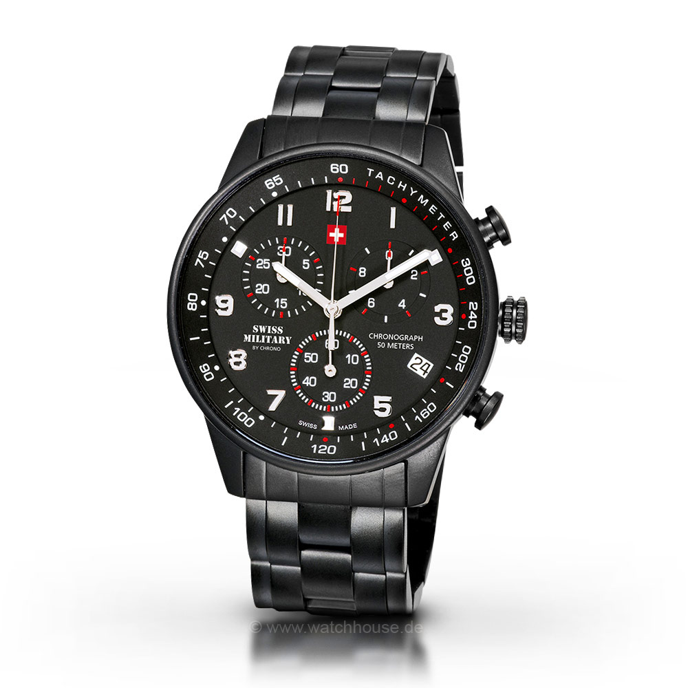 Swiss Military by Chrono Herrenuhr SM34012.04 Chronograph