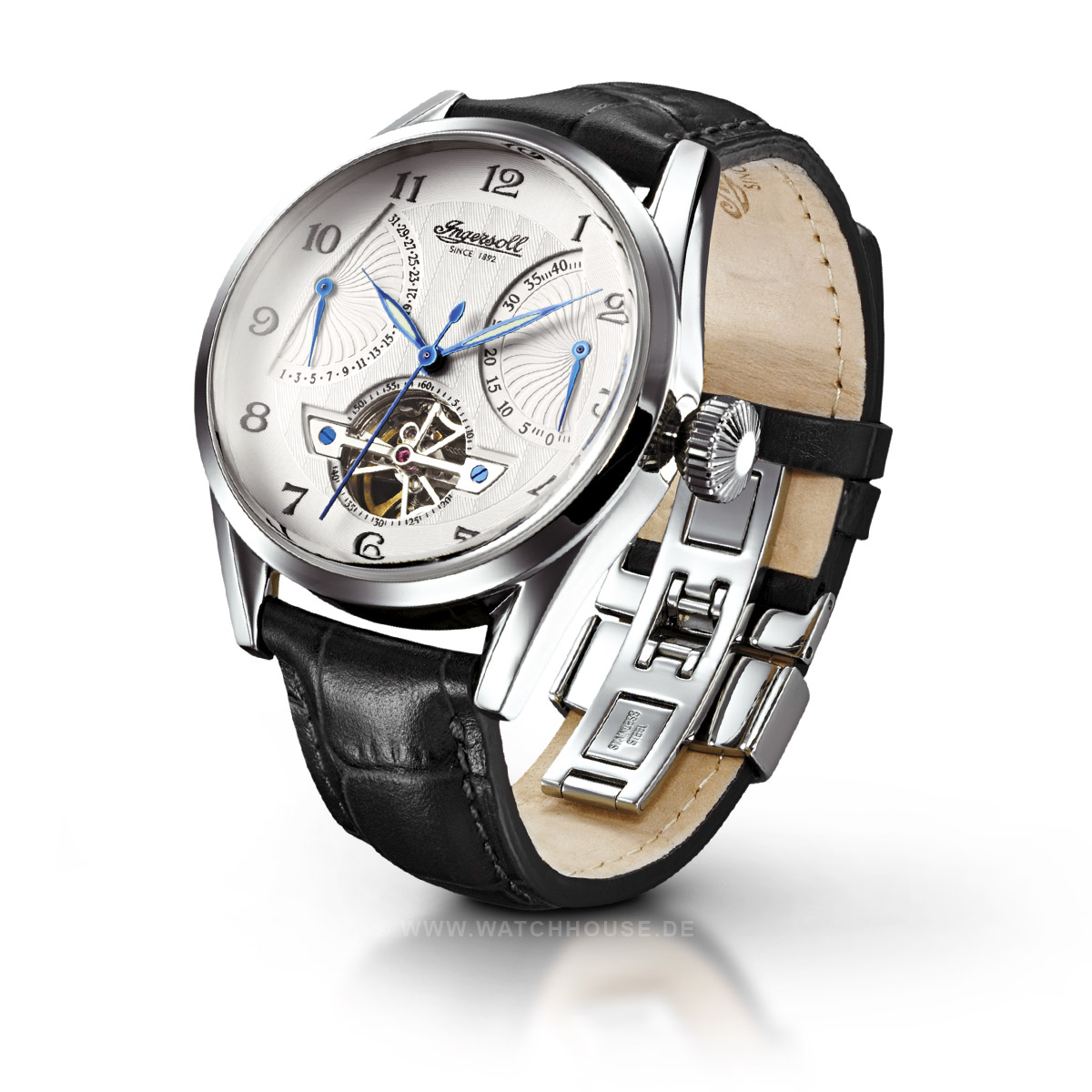 Ingersoll Classic Herren Armbanduhr Stetson IN6901SL Automatik