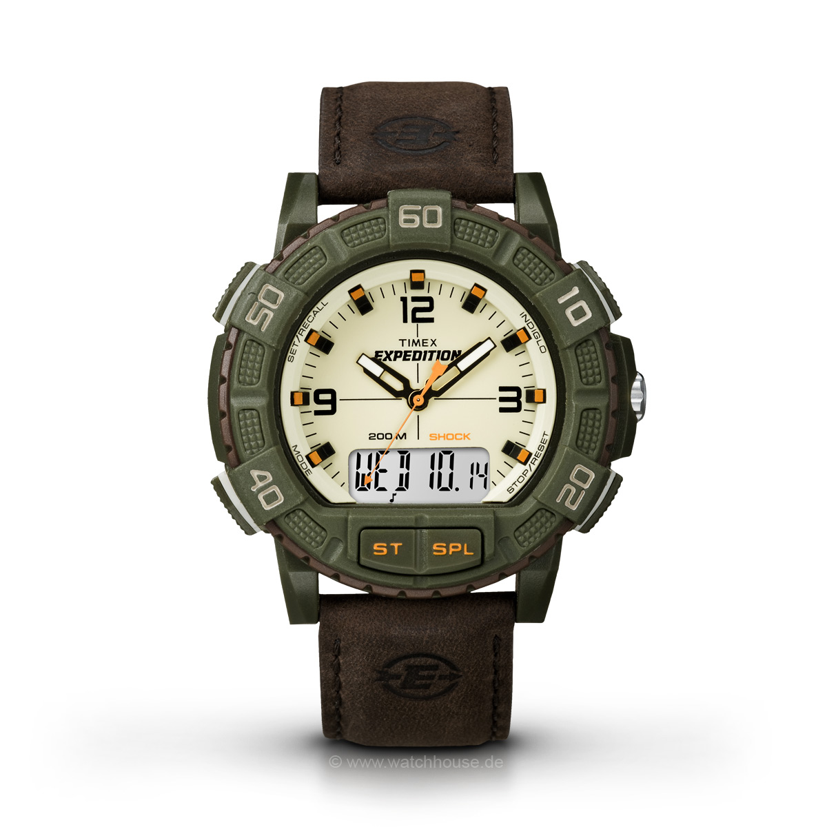 Timex Expedition T49969 Double Shock Herren Outdoor-Uhr