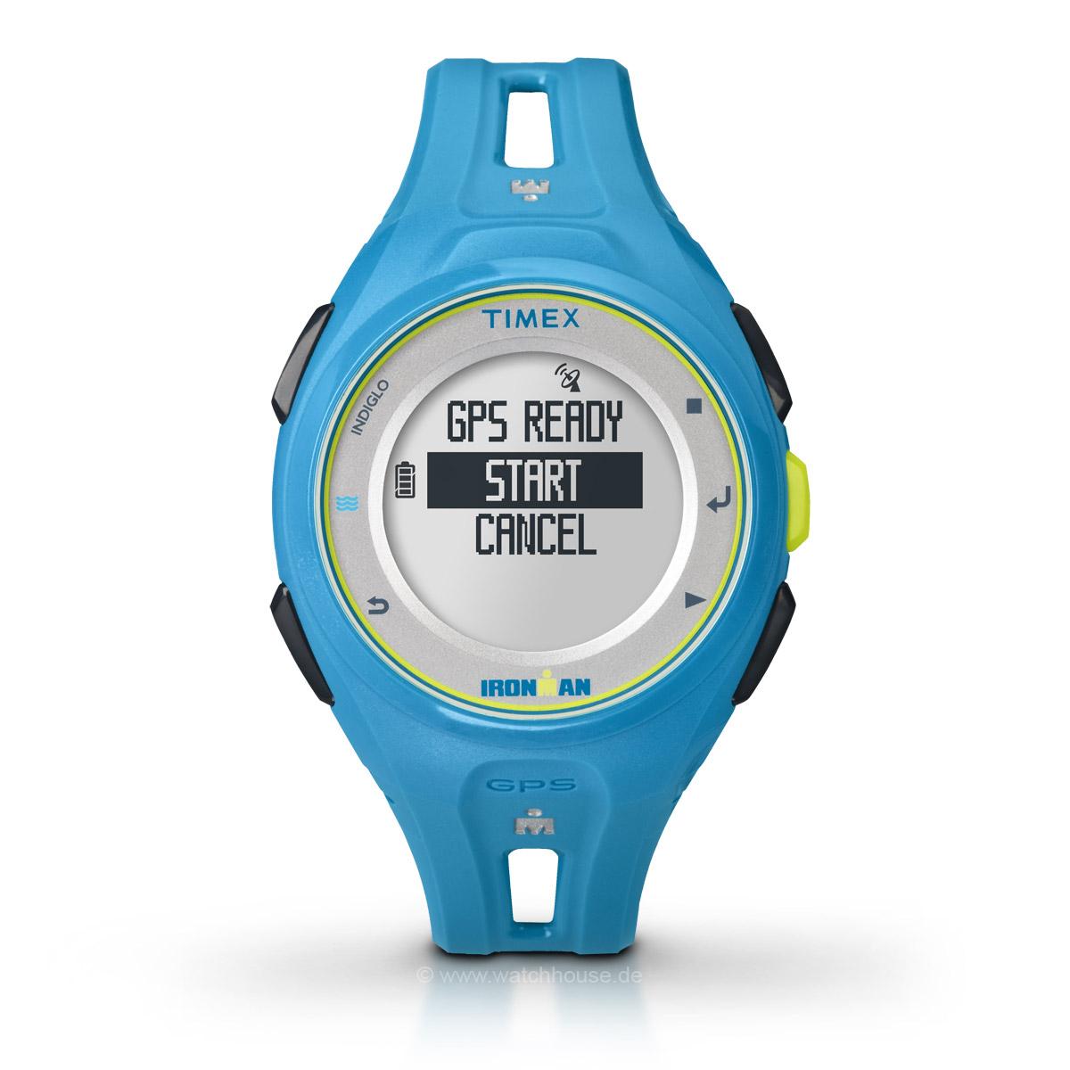 Timex Ironman Run x20 GPS TW5K87600 Sportuhr für Sie und Ihn