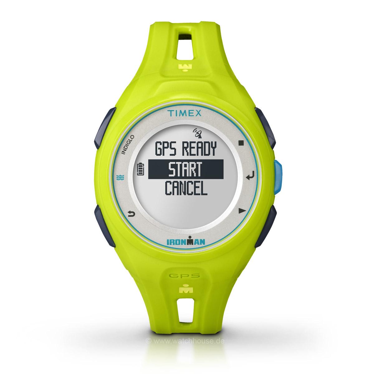 Timex Ironman Run x20 GPS TW5K87500 Sportuhr für Sie und Ihn