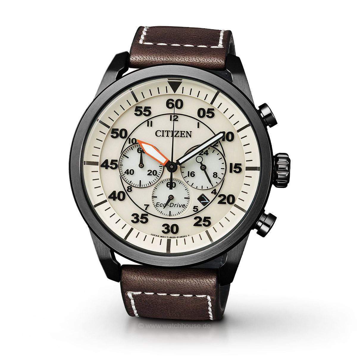 Citizen Sport CA4215-04W Herren Armbanduhr Chronograph Eco Drive
