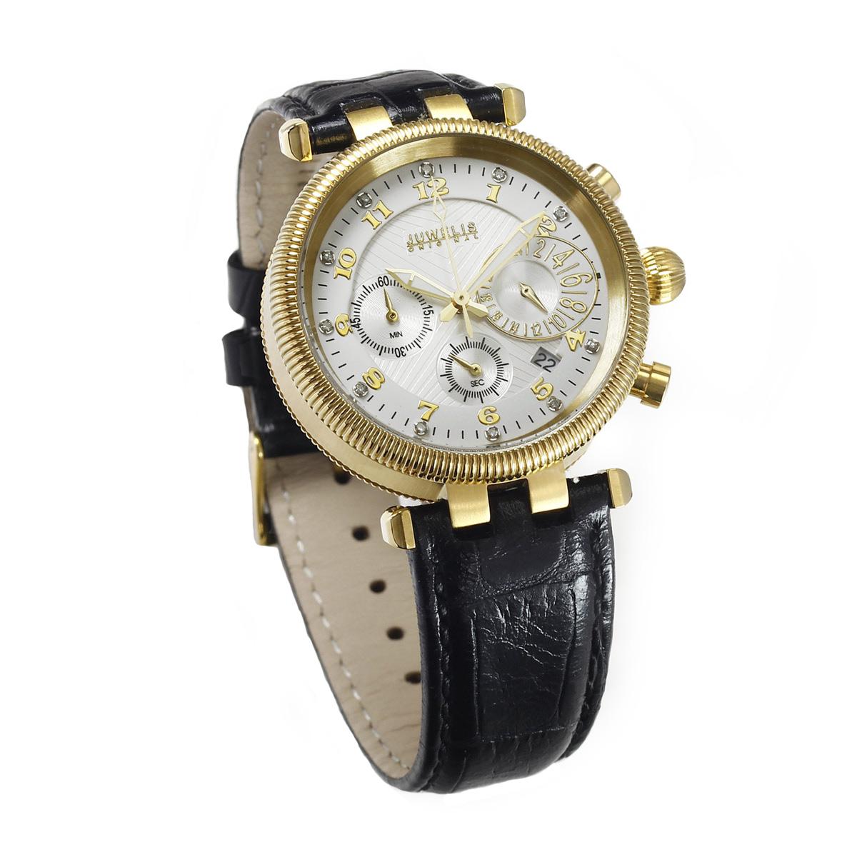 Juwelis Hera Diamond Damenuhr JW7218GW Chronograph Diamanten