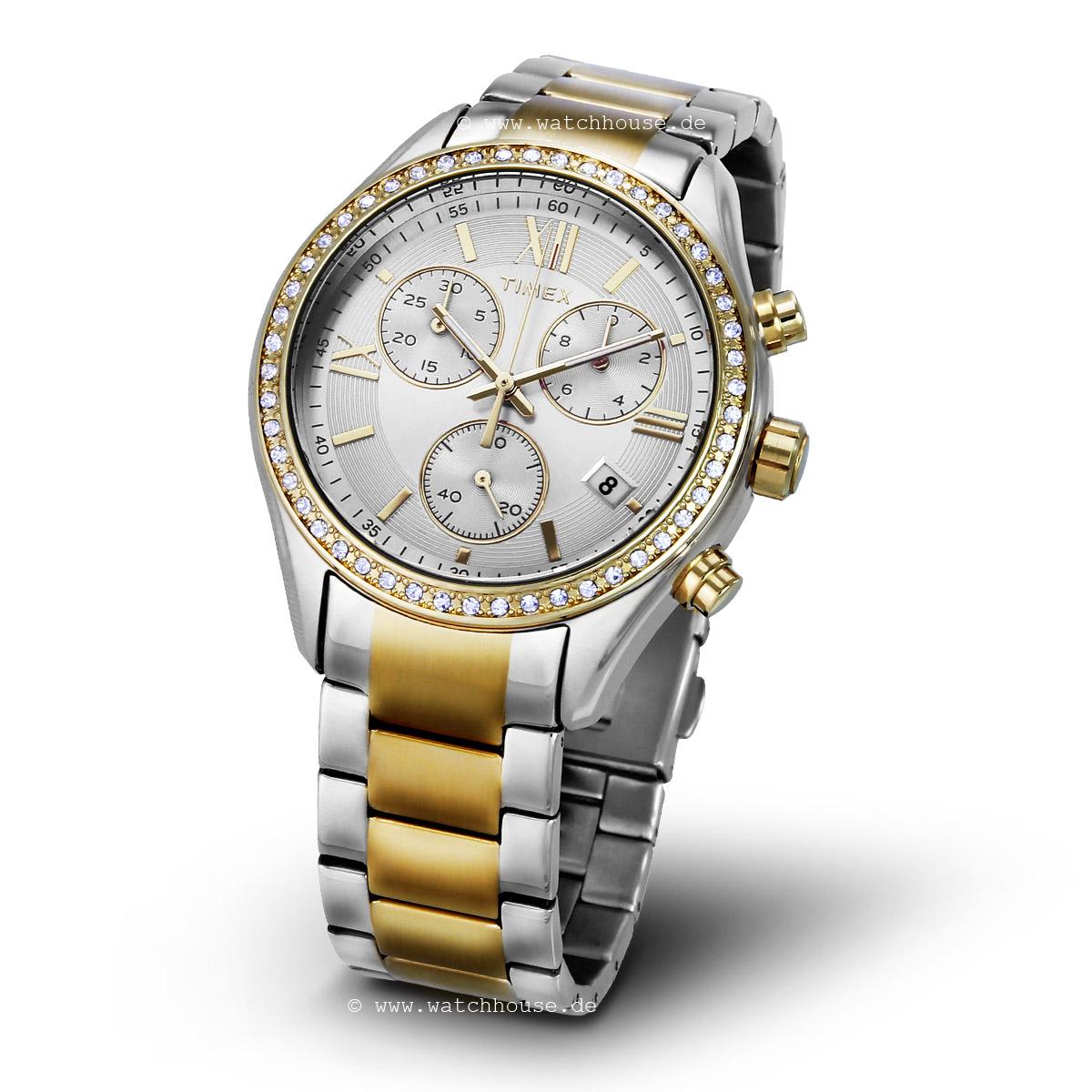 Timex Damen Chronograph TW2P67000 Armbanduhr