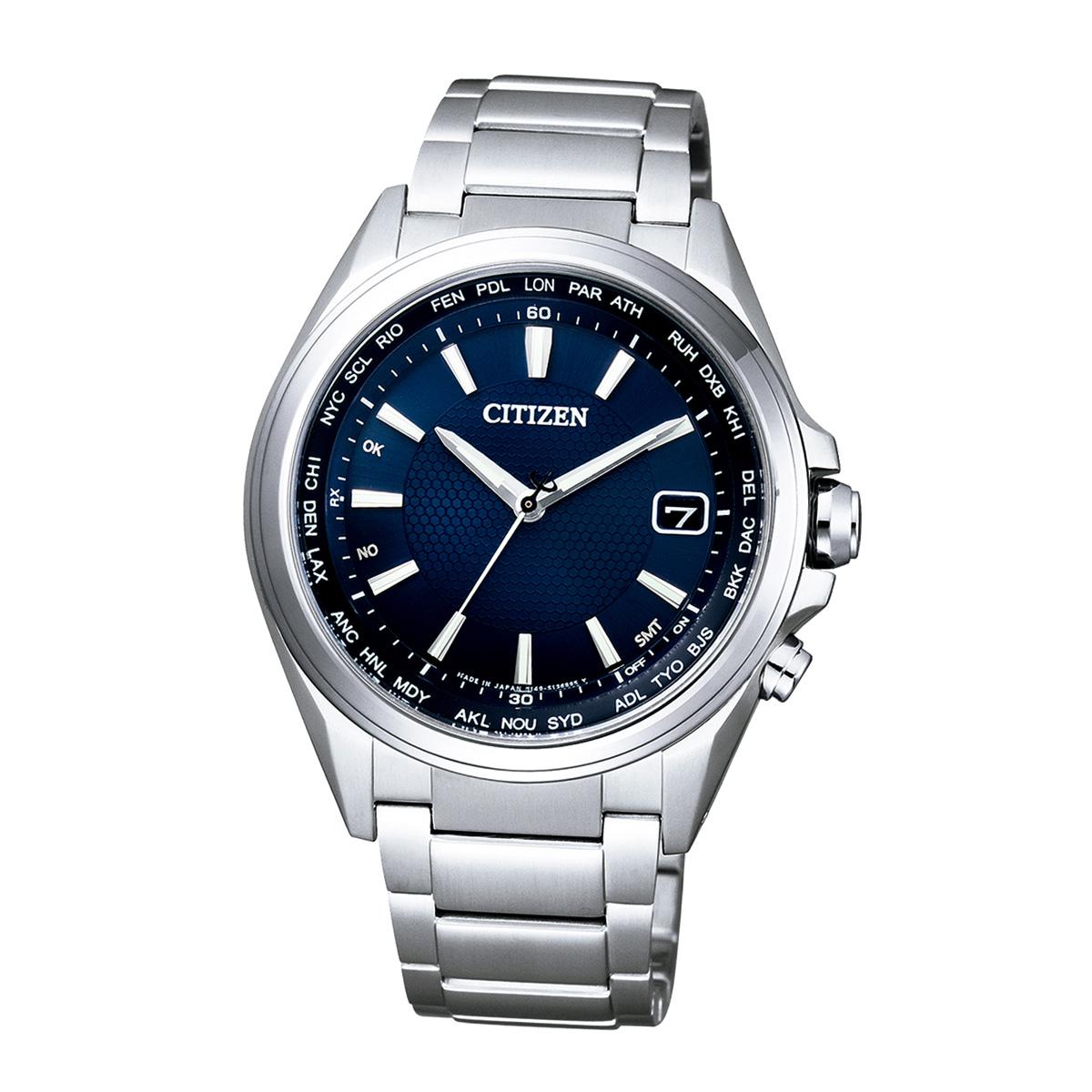 Citizen Elegant CB1070-56L Herren Funk Armbanduhr aus Titan
