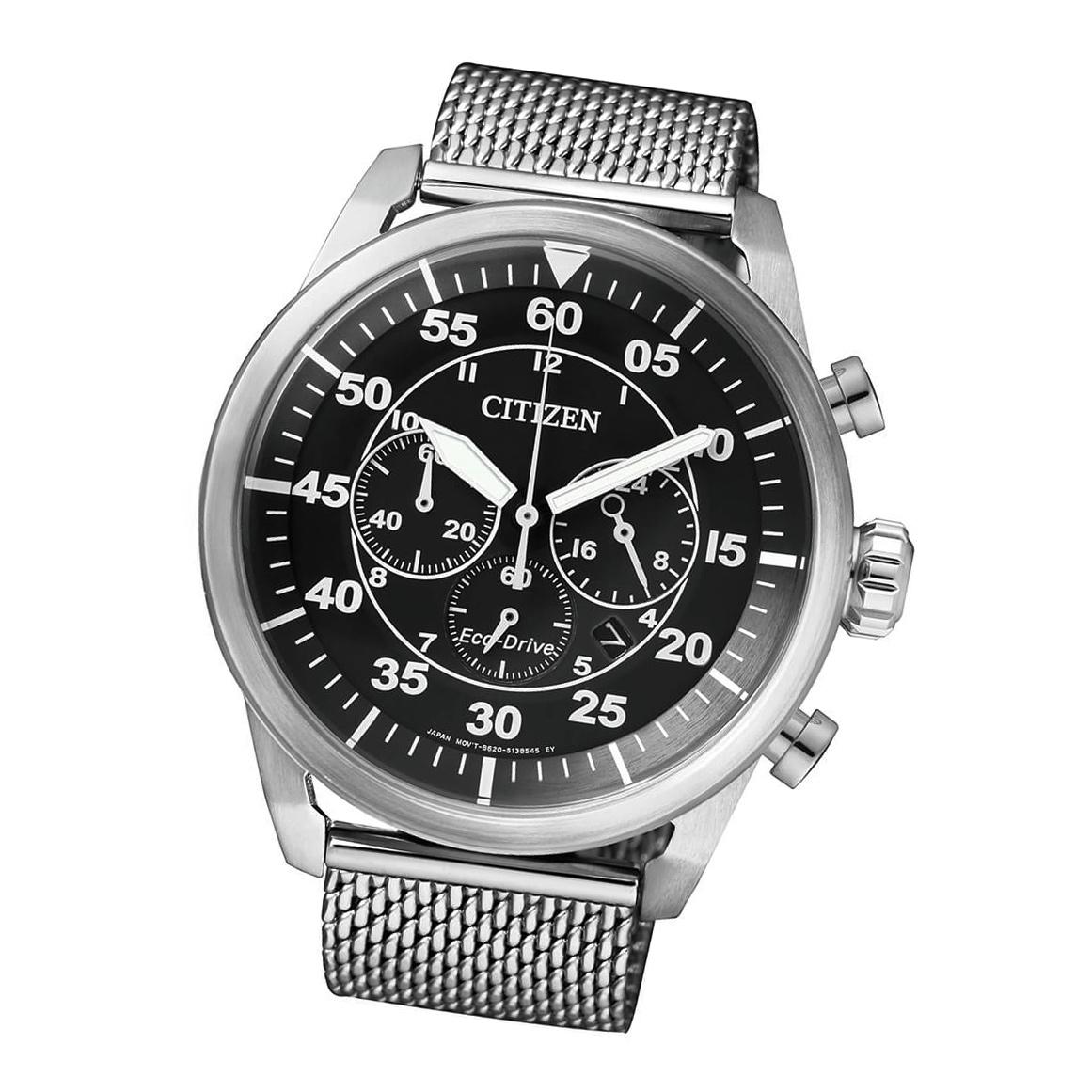 Citizen Sports CA4210-59E Herren Armbanduhr Chronograph Eco Drive