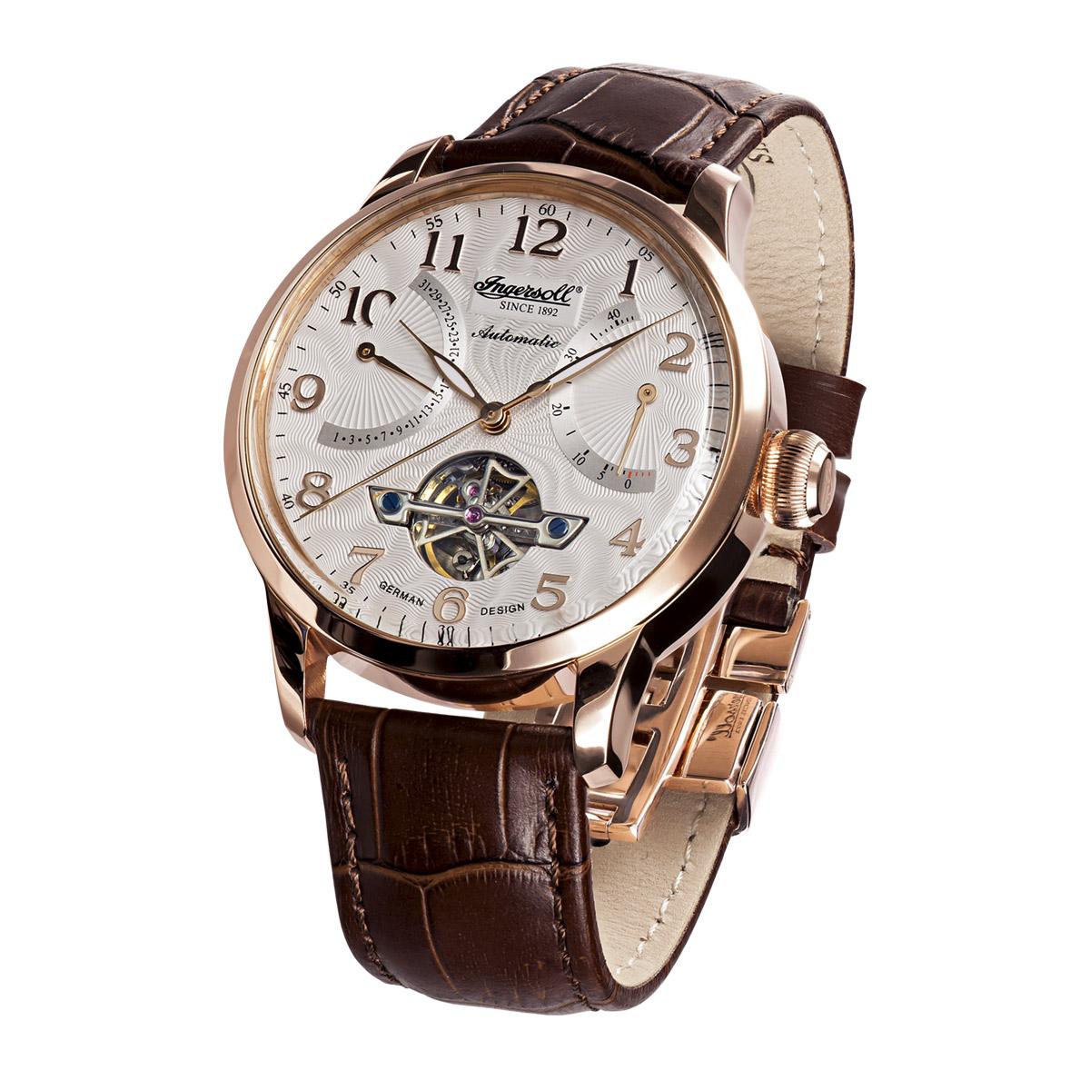 Ingersoll Classic Stetson II IN6910RSL Massa Herren Armbanduhr Automatikuhr