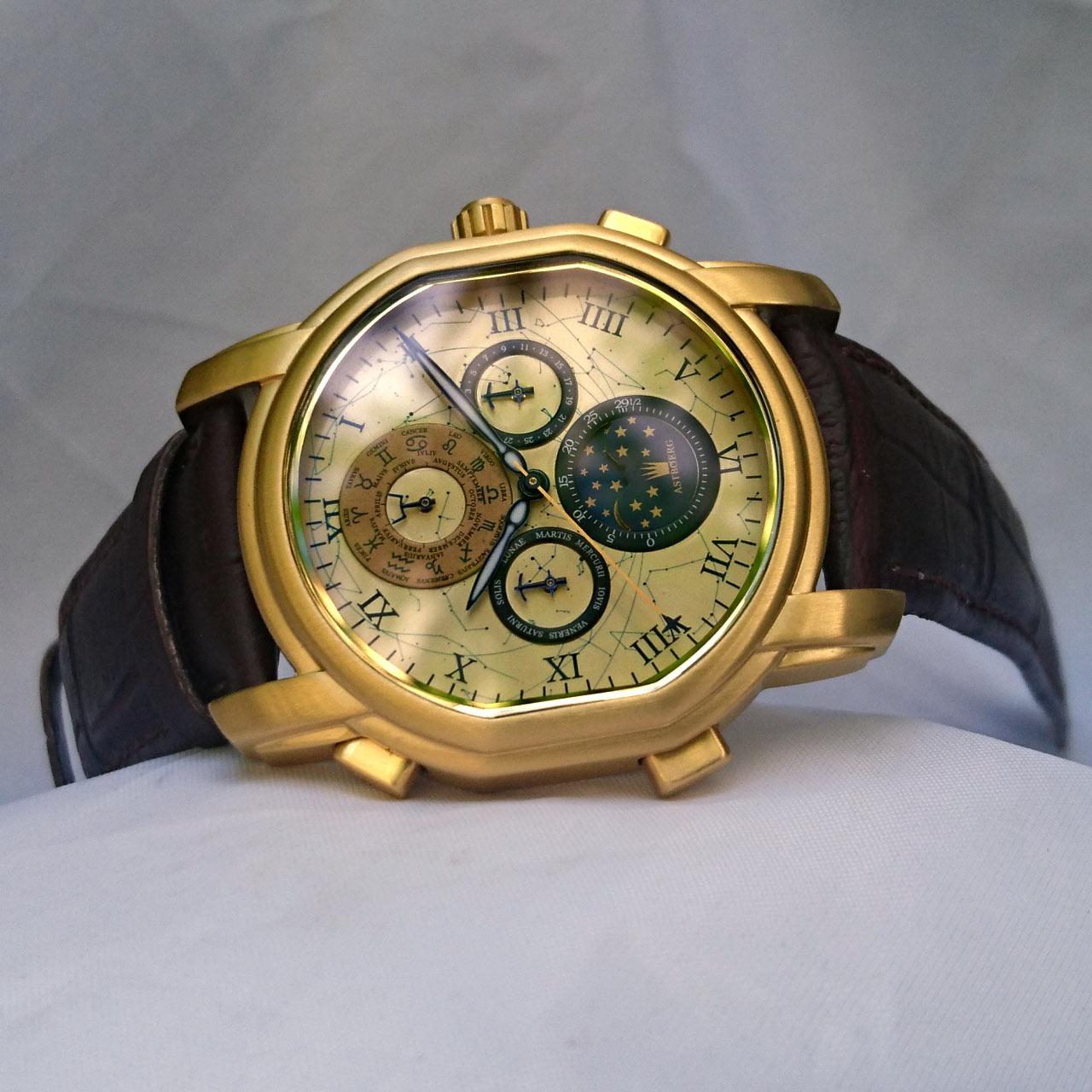 Astboerg Zentaur Herren Armbanduhr AT650GC Kalenderuhr